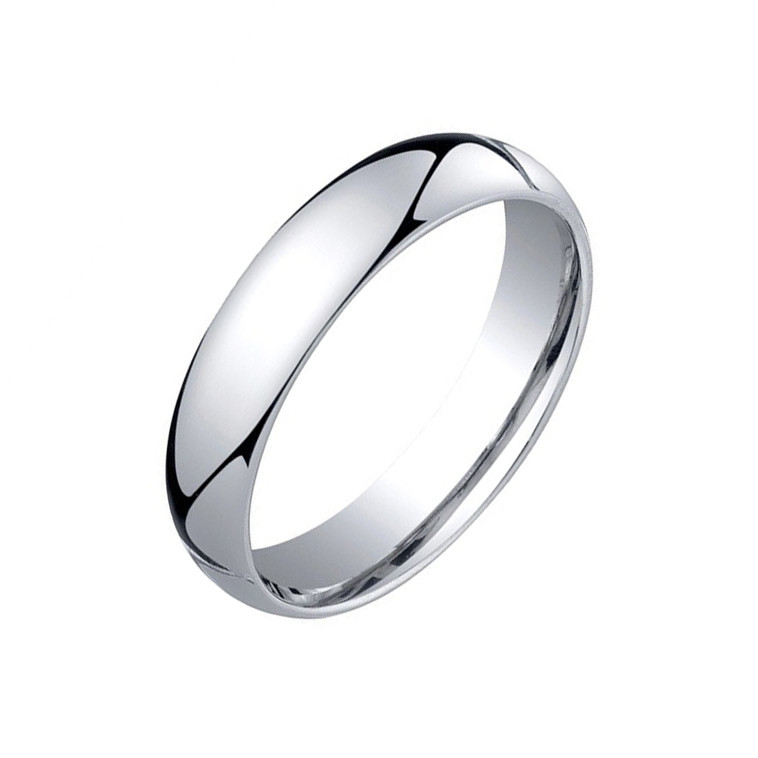 Platinum Comfort Fit Wedding Band (5mm)