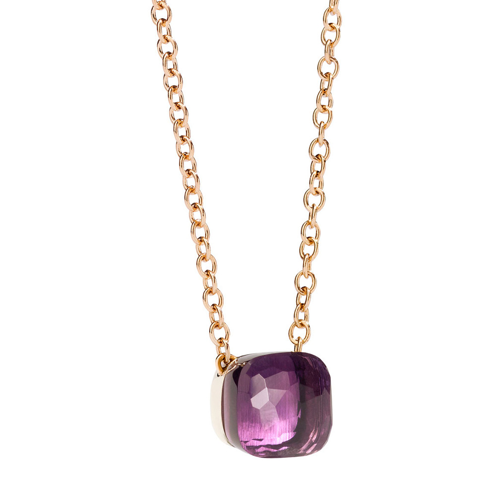 "Amethyst ""Nudo"" Pendant Necklace"