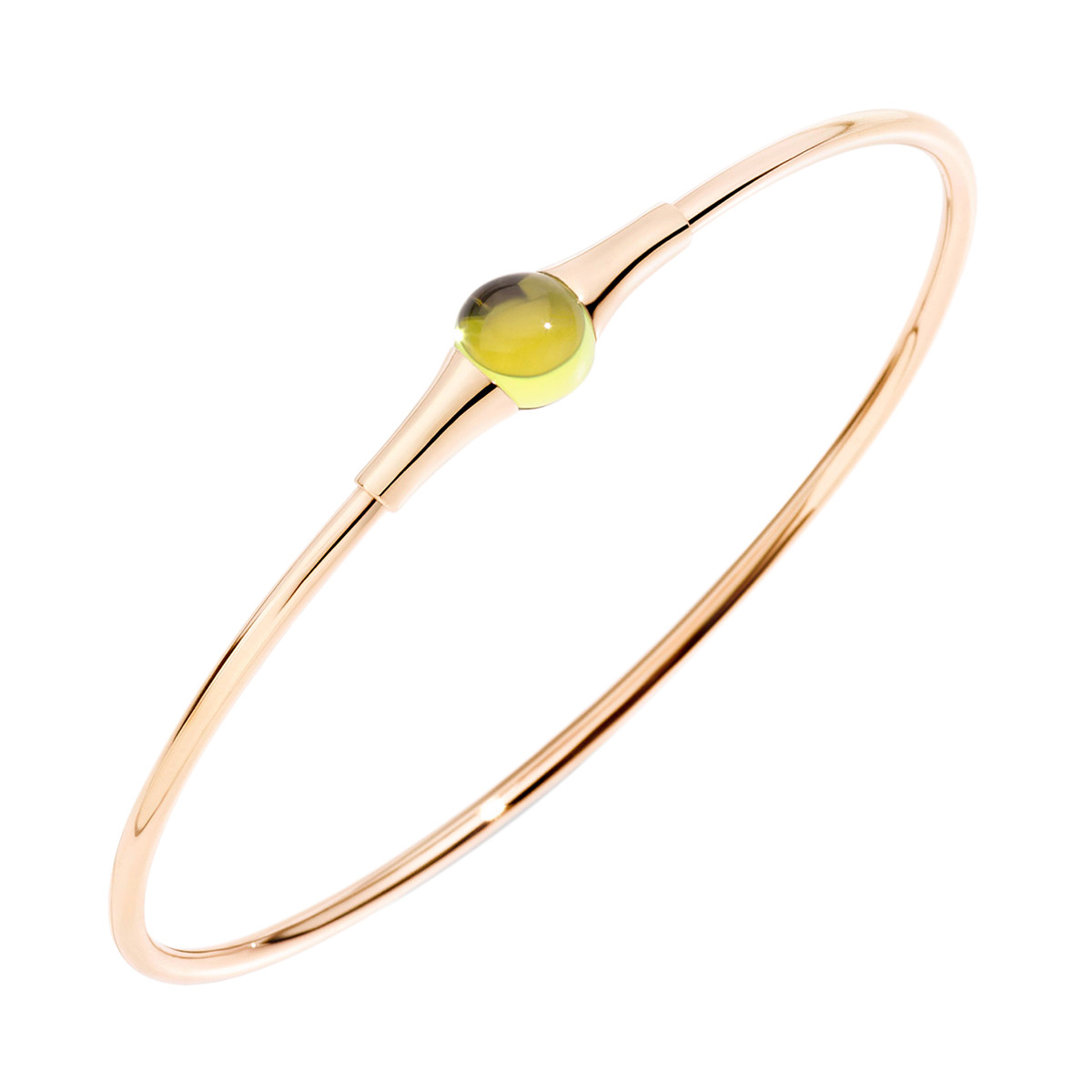 "Peridot ""M'ama Non M'ama"" Bangle"