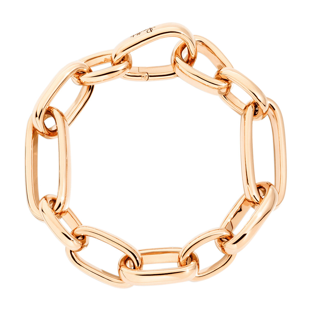 "Slim 18k Rose Gold ""Iconica"" Link Bracelet"
