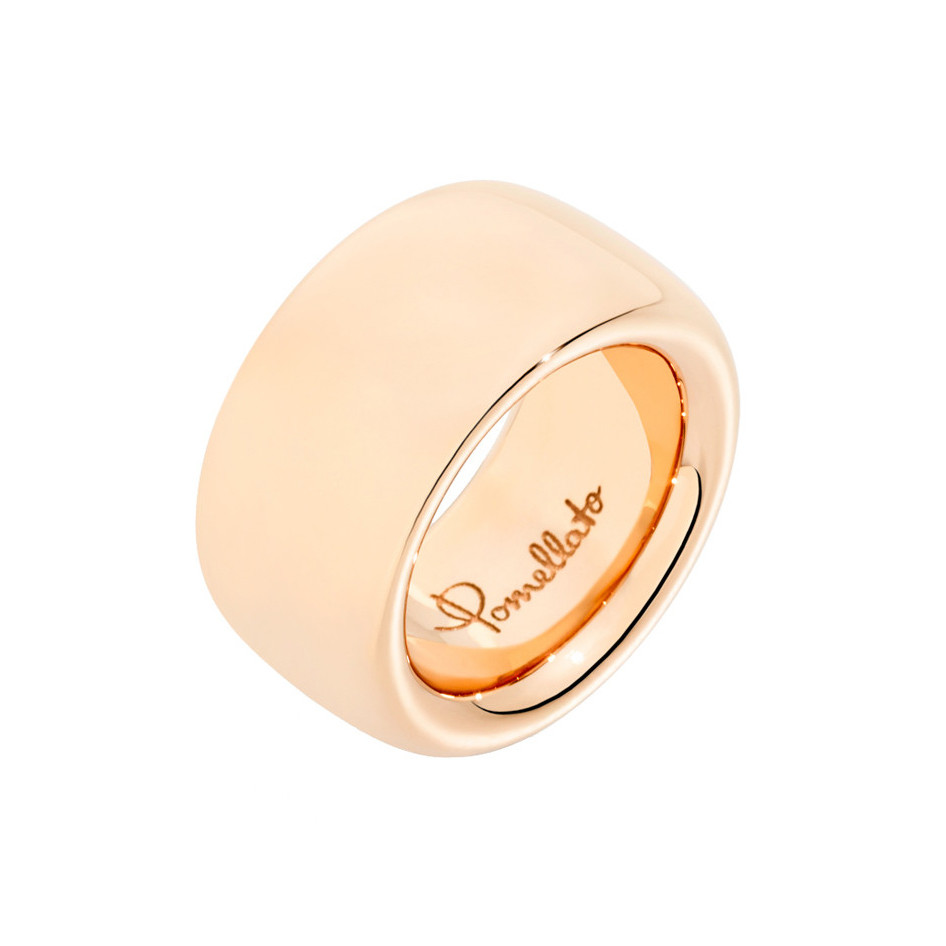 "Maxi 18k Rose Gold ""Iconica"" Band Ring"
