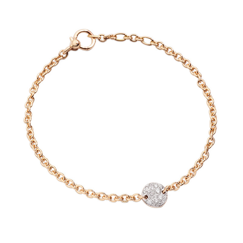 "Diamond ""Sabbia"" Chain Bracelet"