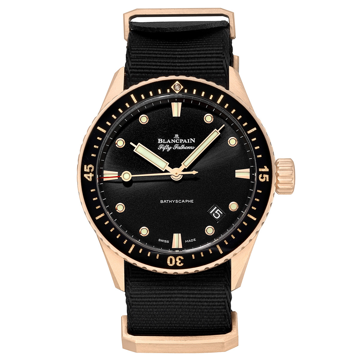 Fifty Fathoms Bathyscaphe Rose Gold (5000-36S30)