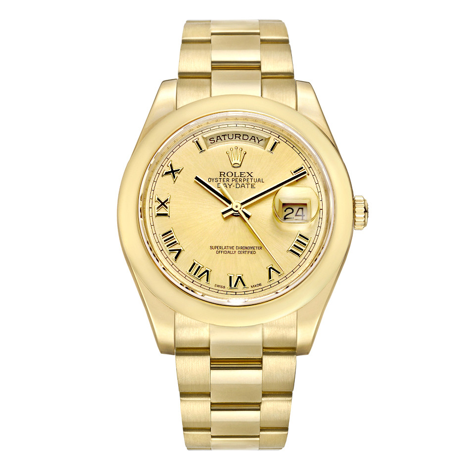 Day-Date 36 Yellow Gold (118208)