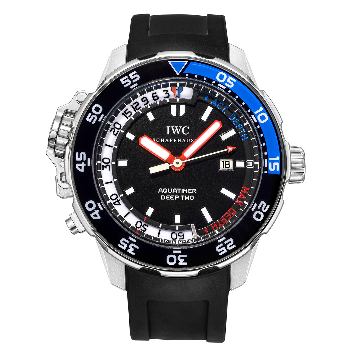 Aquatimer Deep Two Steel (IW354702)