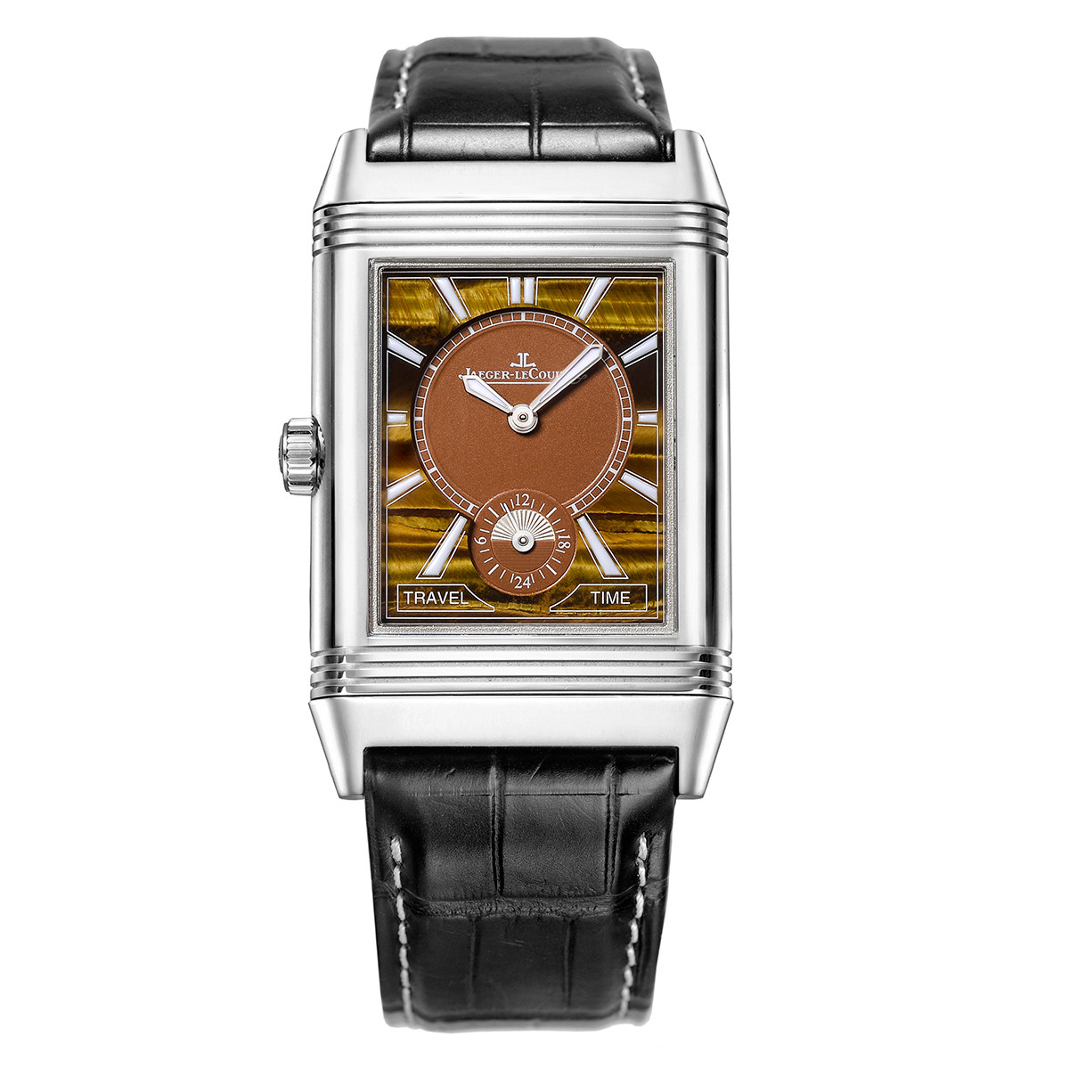 Reverso Large Duoface Tiger's Eye Steel (38484AA)