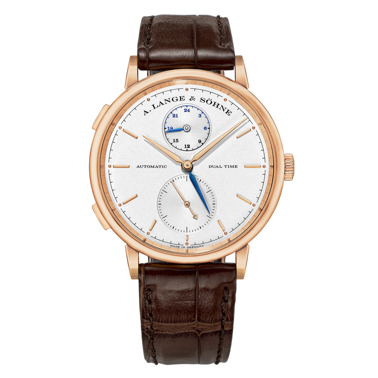 Saxonia Dual Time Rose Gold (385.032)