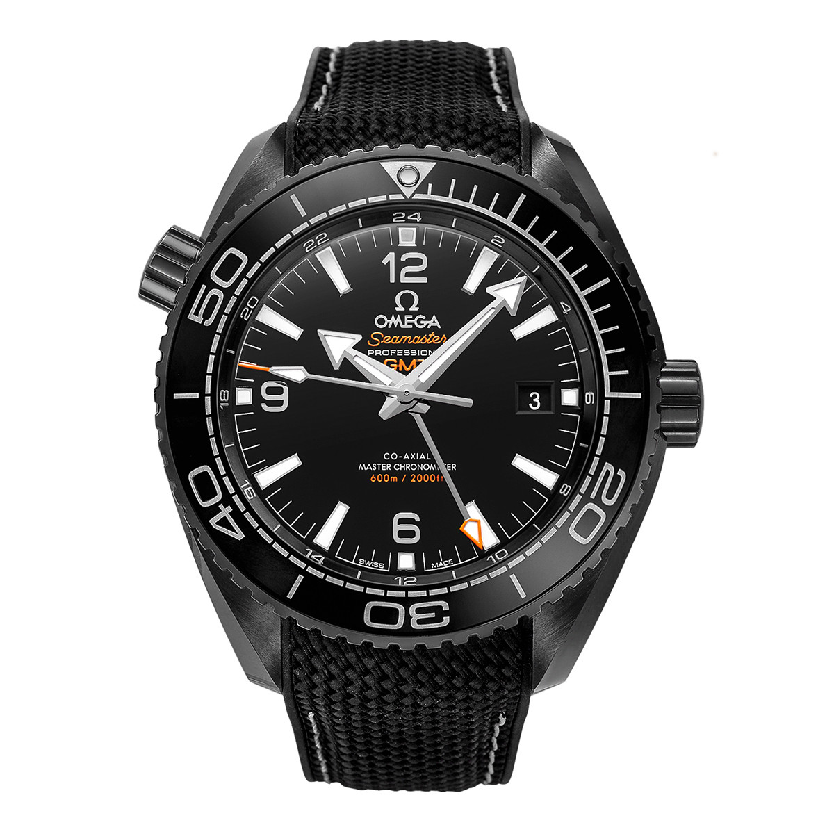 "Seamaster Planet Ocean ""Deep Black"" (215.92.46.22.01.001)"