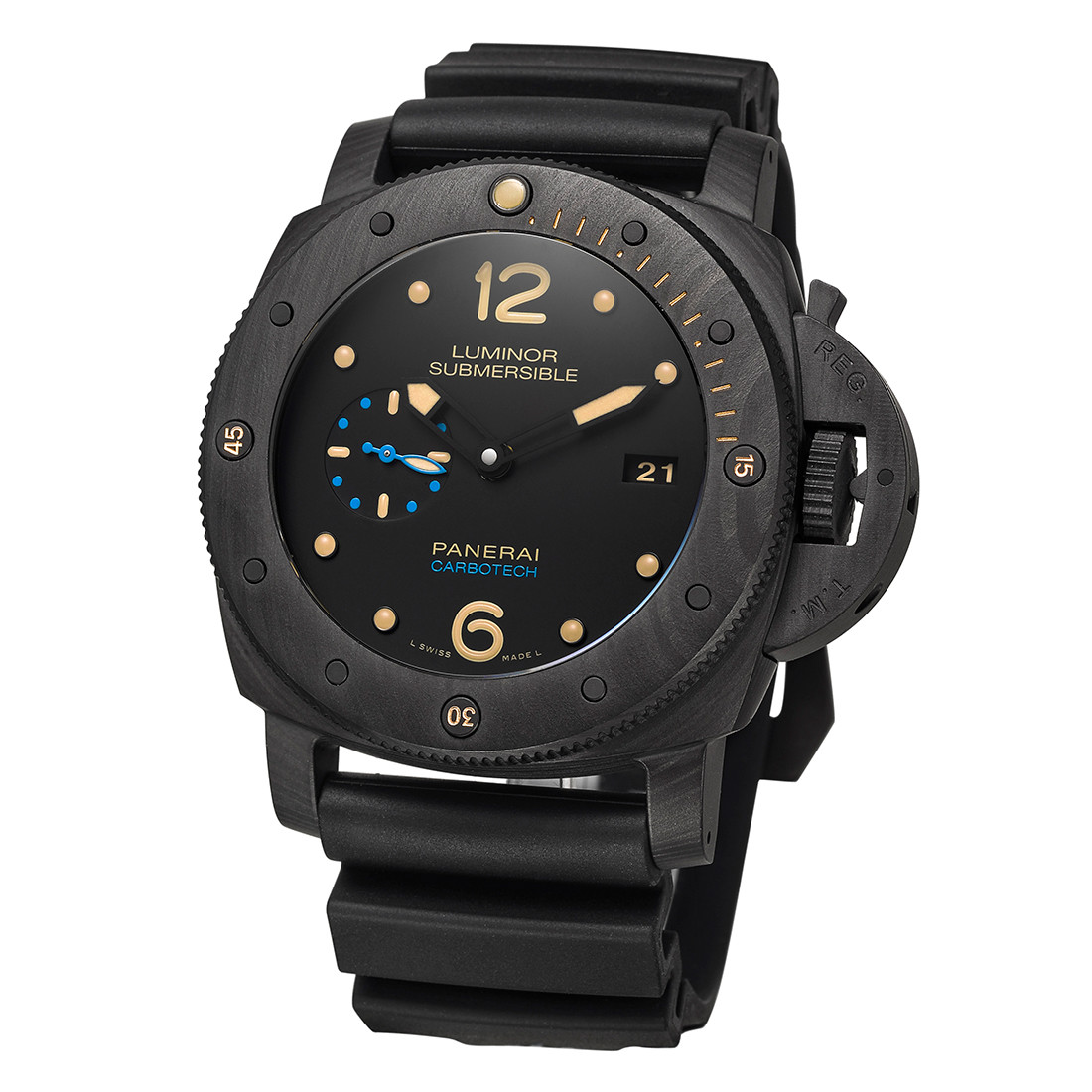Luminor Submersible 1950 3-Days Carbotech (PAM00616)