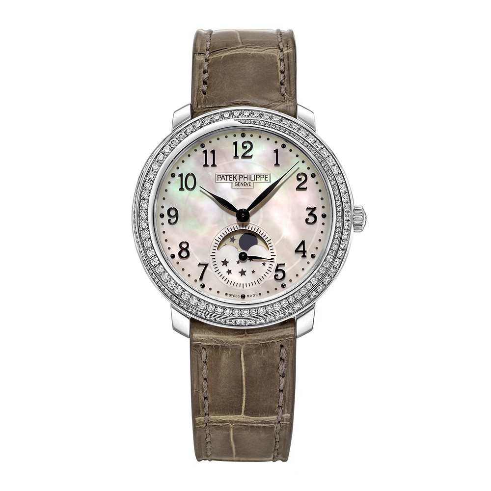 Ladies' Moon Phase White Gold (4968G-010)