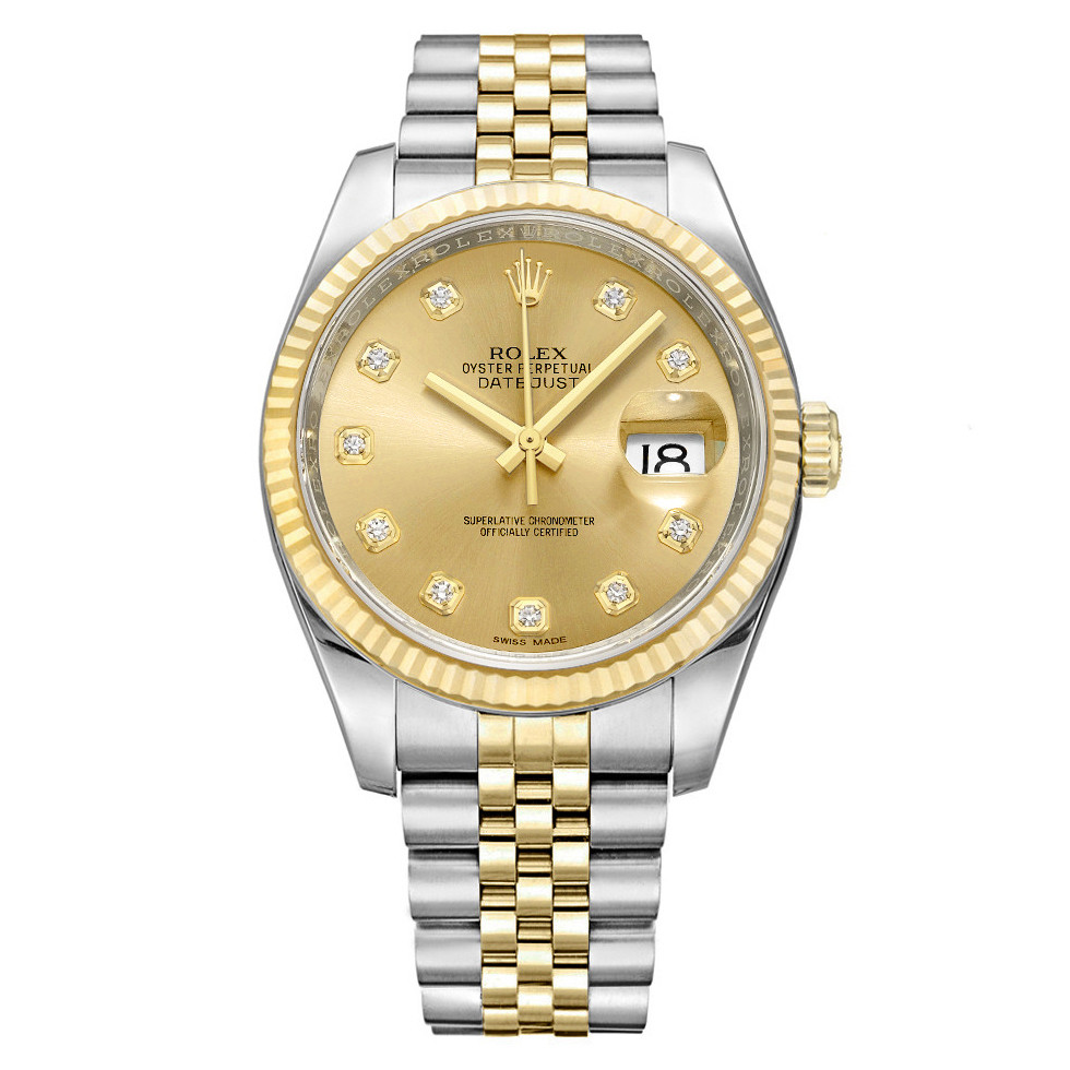 Datejust 36 Steel & Yellow Gold (116233)