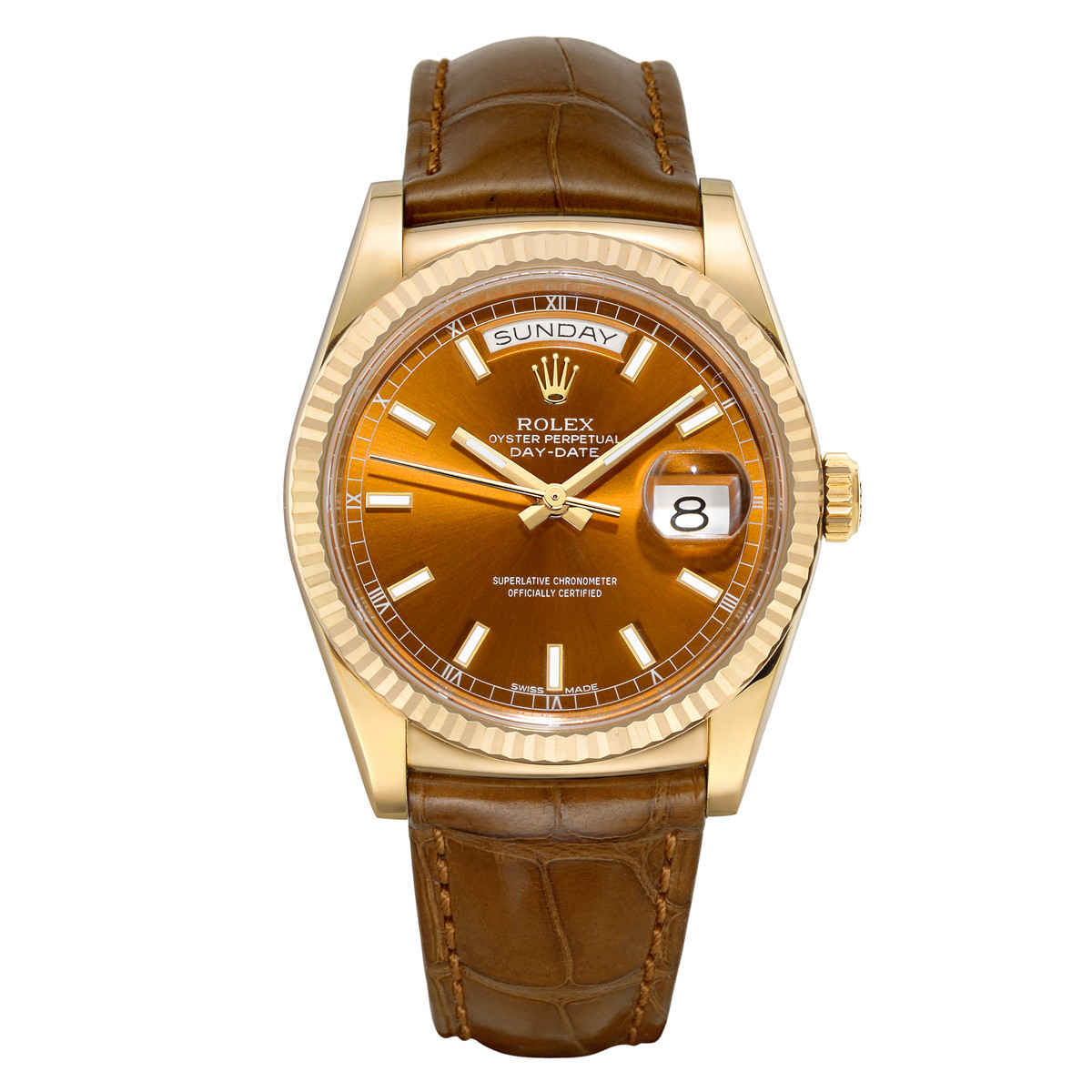 Day-Date 36 Yellow Gold (118138)