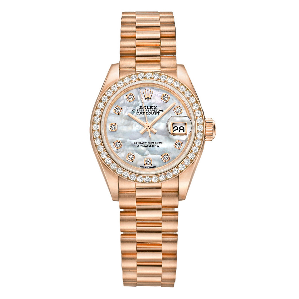 Lady-Datejust 28 Everose Gold (279135RBR-0010)