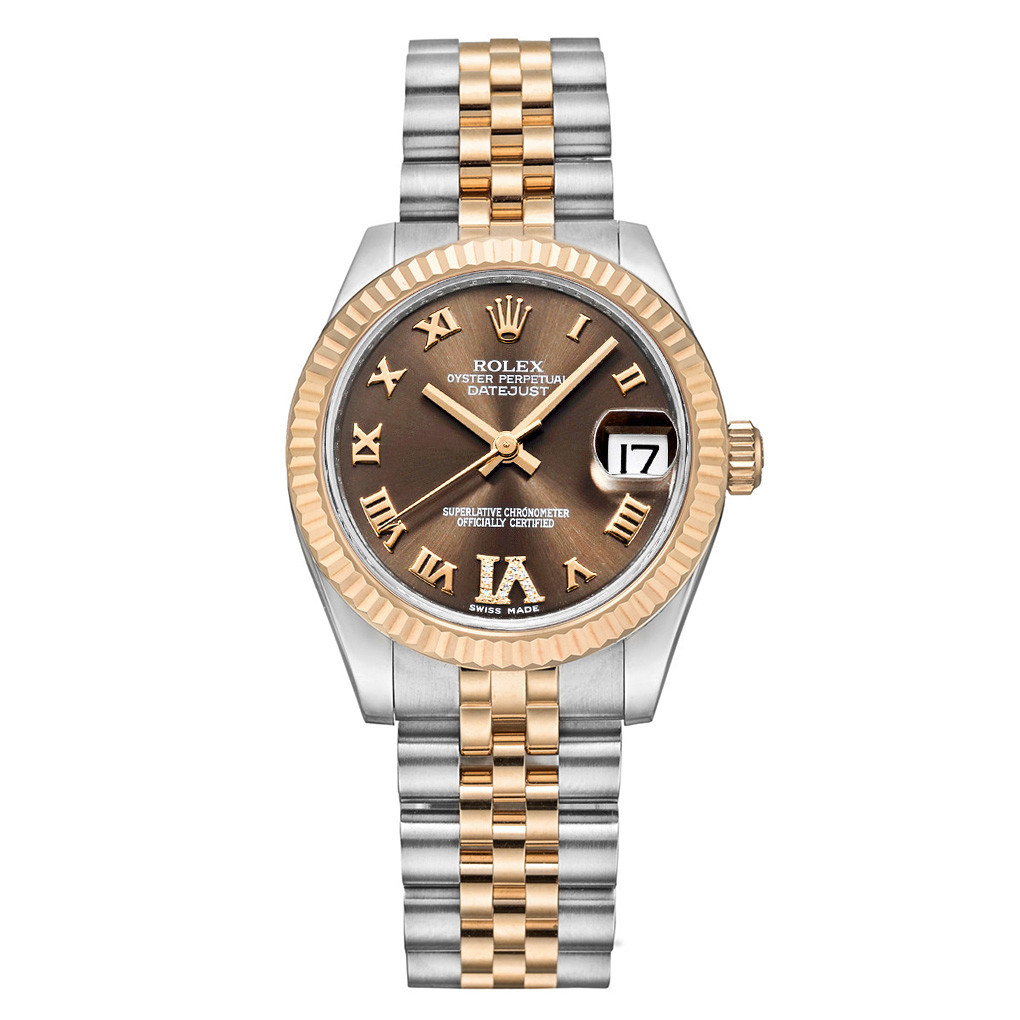Datejust 31 Steel & Everose Gold (178271)