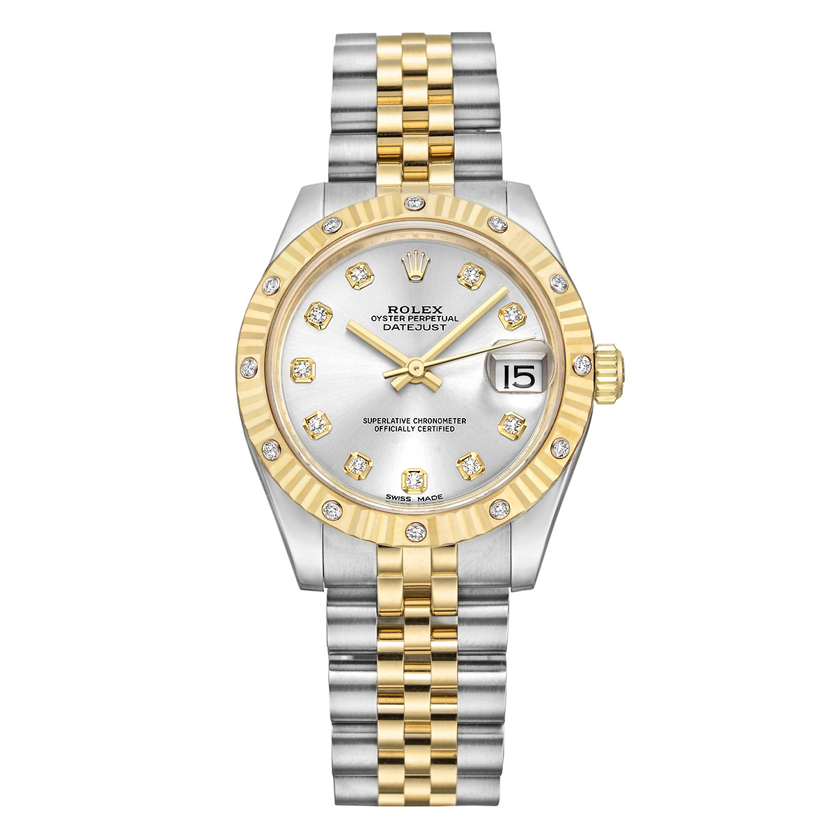 Datejust 31 Steel & Yellow Gold (178313)