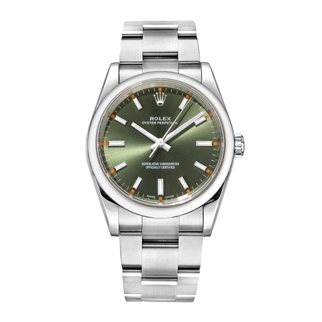 Oyster Perpetual 34 Oystersteel (114200-0021)