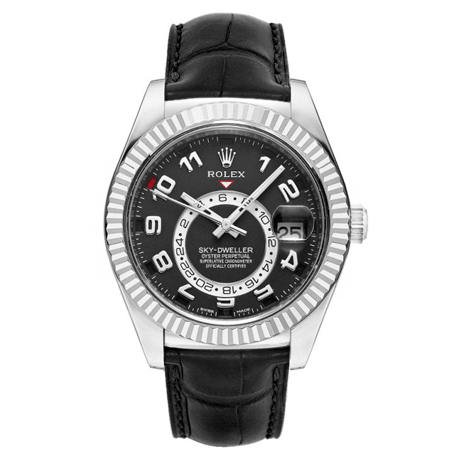 Sky-Dweller White Gold (326139)