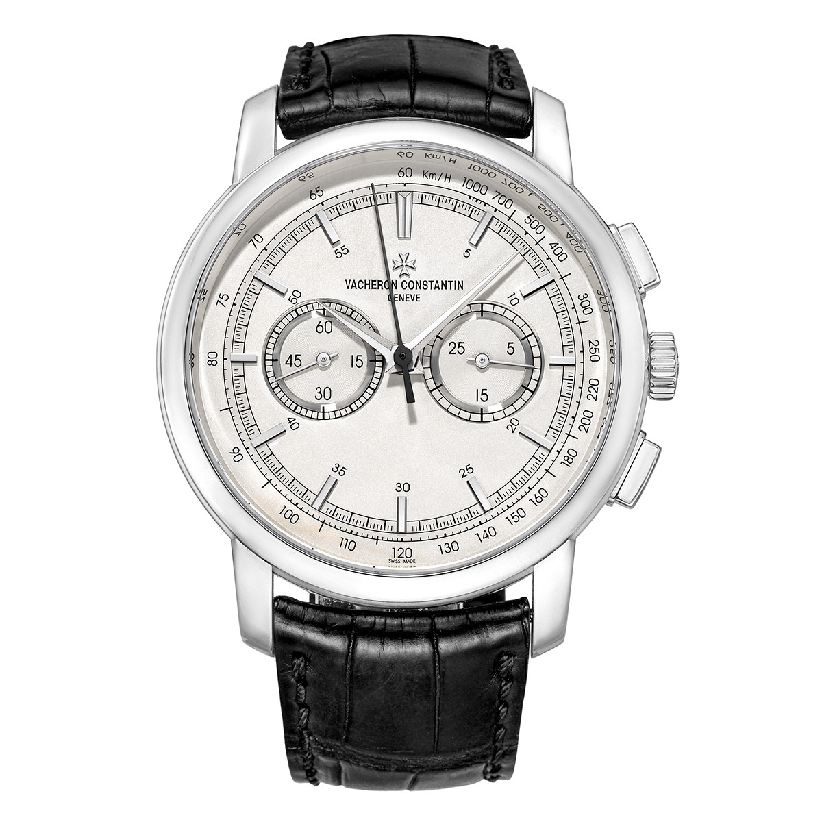 Traditionnelle Chronograph White Gold (47192)