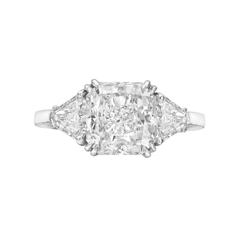 engagement rings ring band products crown diamonds diamond cut hand carat trillion on half artemer