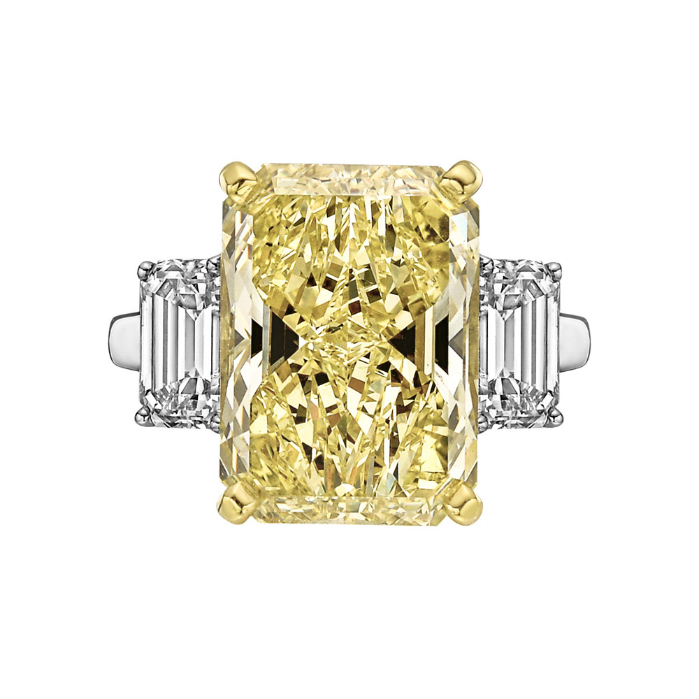 kavels fancy gia diamond brownish total ring with shaped ct natural certificate pear yellow in