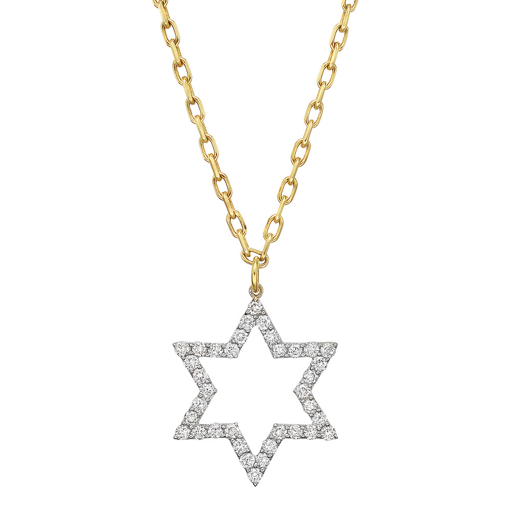 Renee lewis diamond star pendant necklace betteridge diamond star pendant necklace aloadofball Images