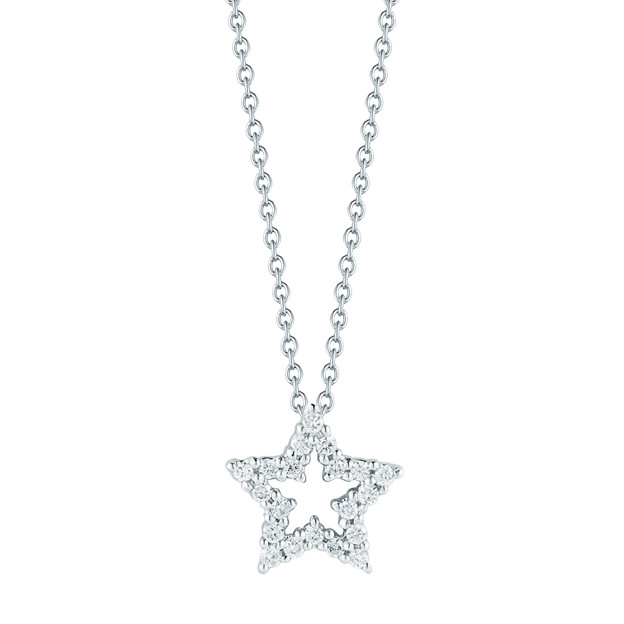 "Diamond ""Tiny Treasures"" Star Pendant"