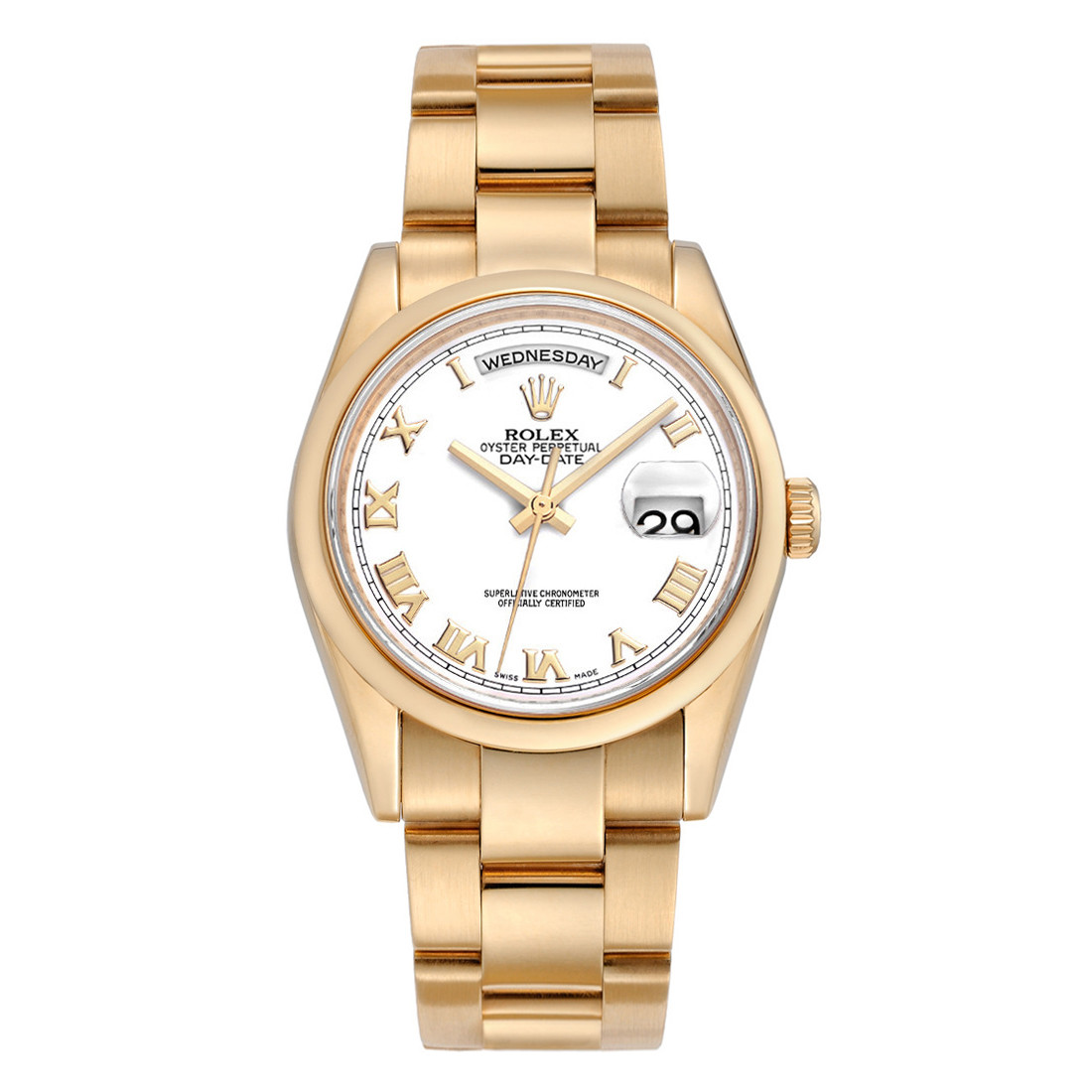 Day-Date 36 Everose Gold (118205)
