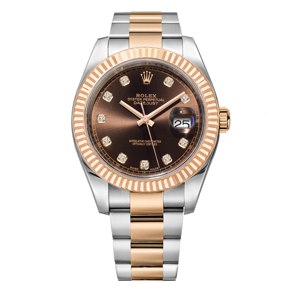 Datejust 41 Oystersteel & Everose Gold (126331-0003)