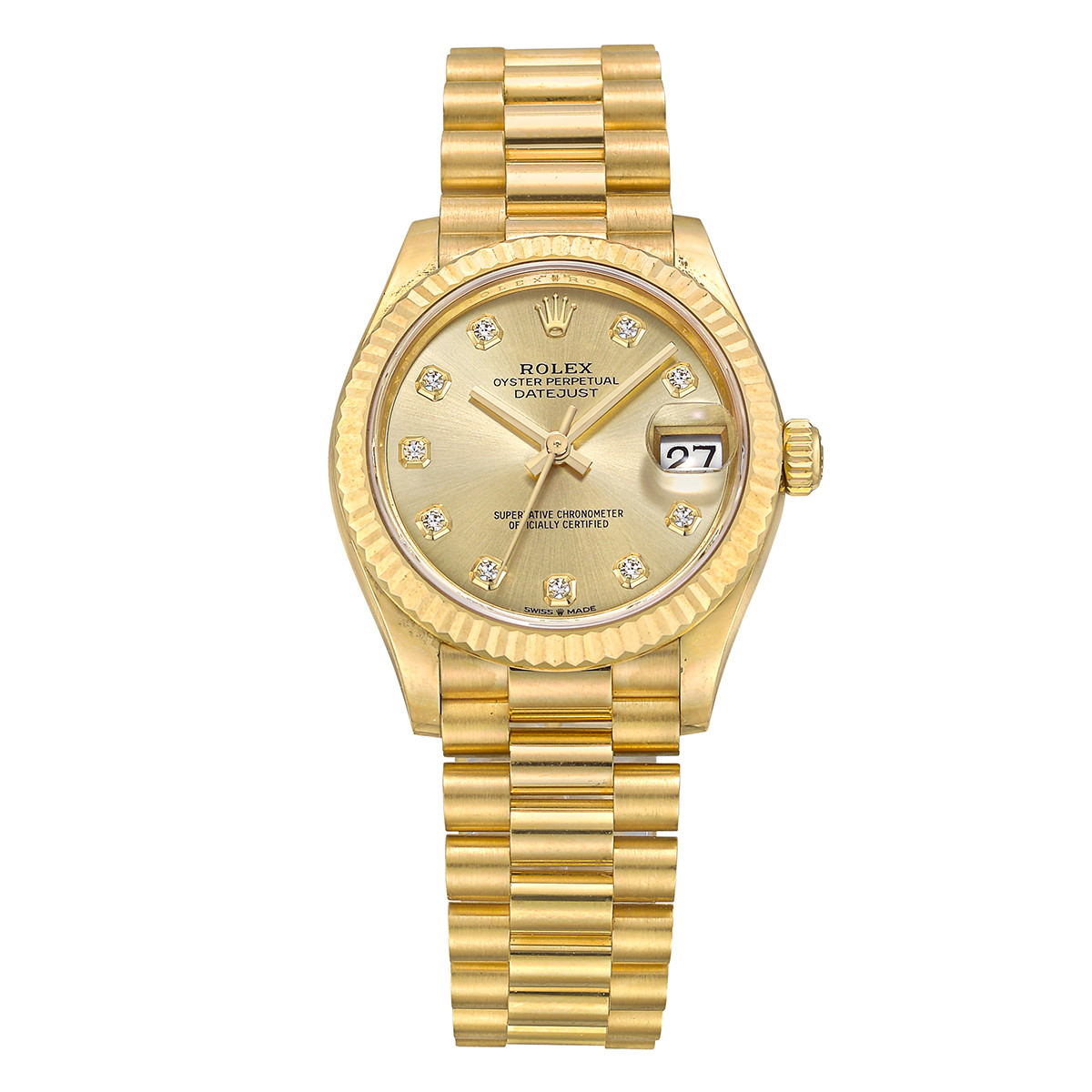 Datejust 31 Yellow Gold (278278-0009)