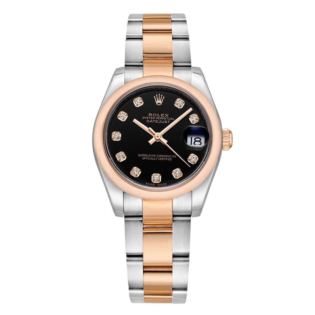 Datejust 31 Everose Rolesor (178241-0015)