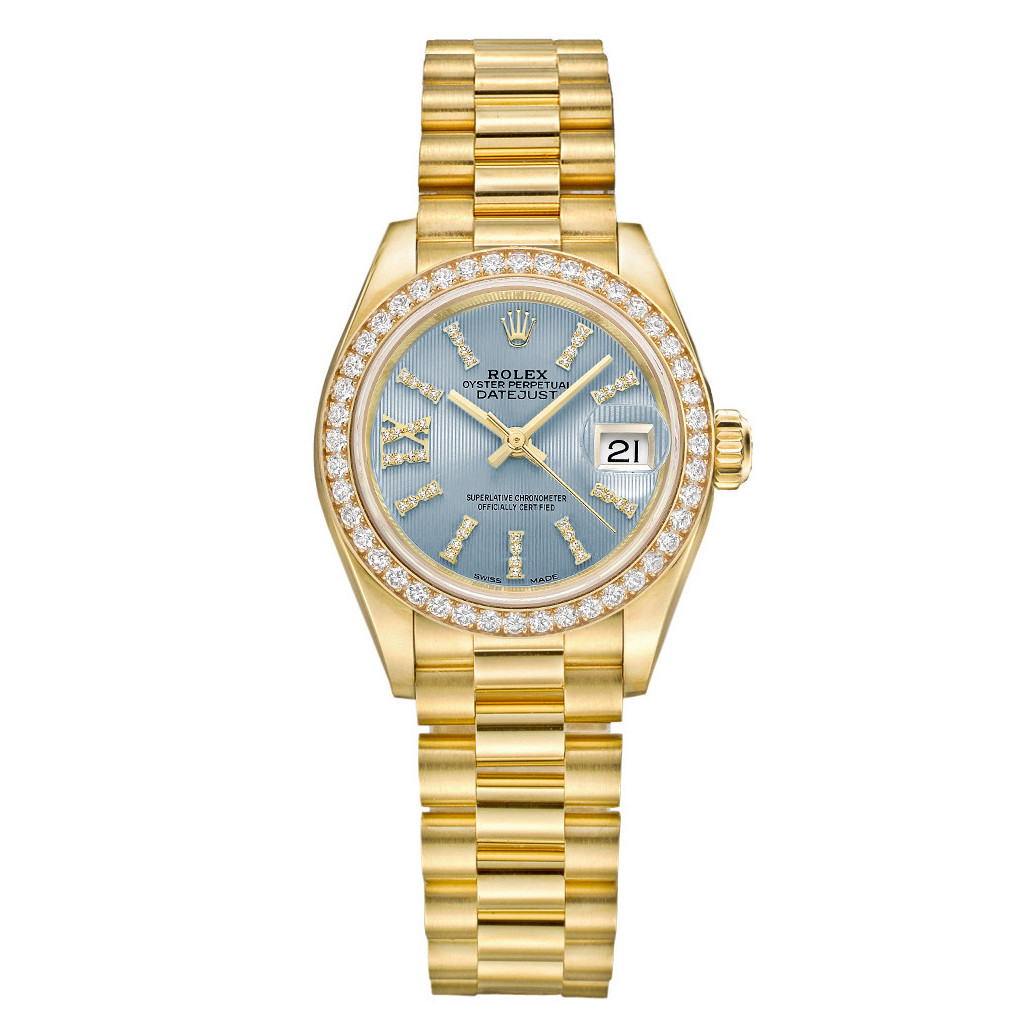 Lady-Datejust 28 Yellow Gold & Diamonds (279138RBR)