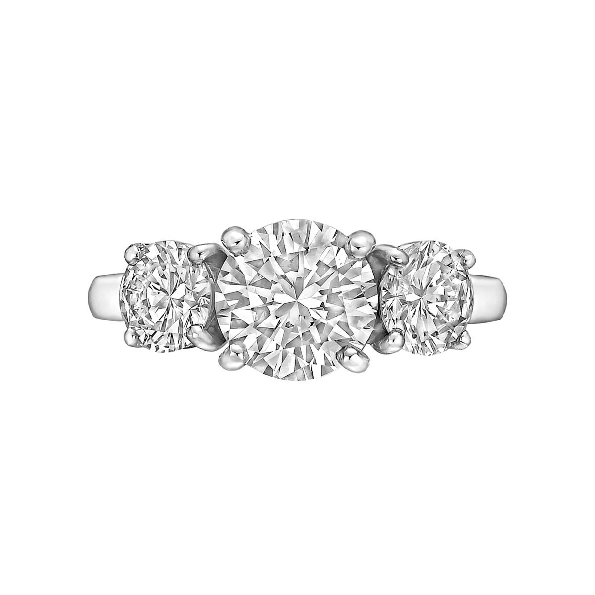 1.53ct Round Brilliant Diamond Ring (H/SI1)