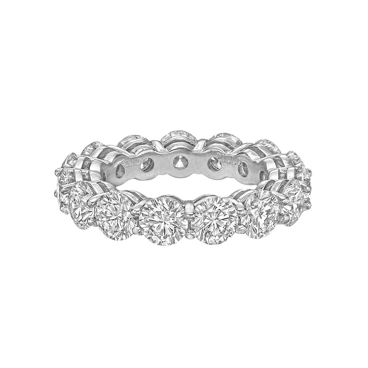 Round Brilliant Diamond Eternity Band (5.68tcw)
