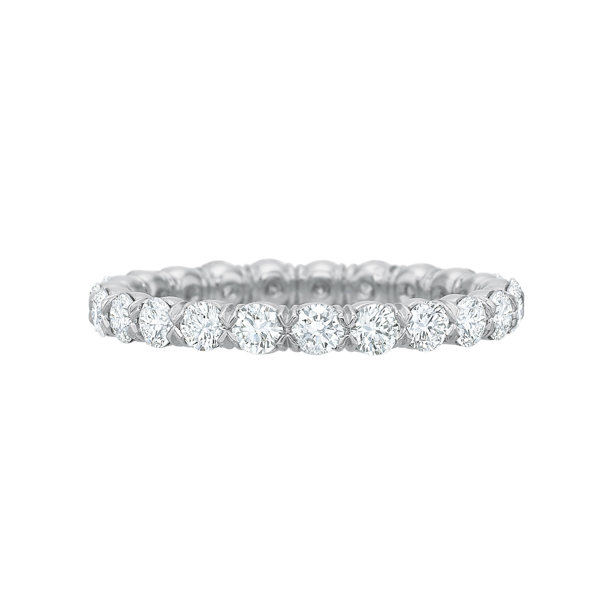 Round Brilliant Diamond Eternity Band (1.18ct tw)