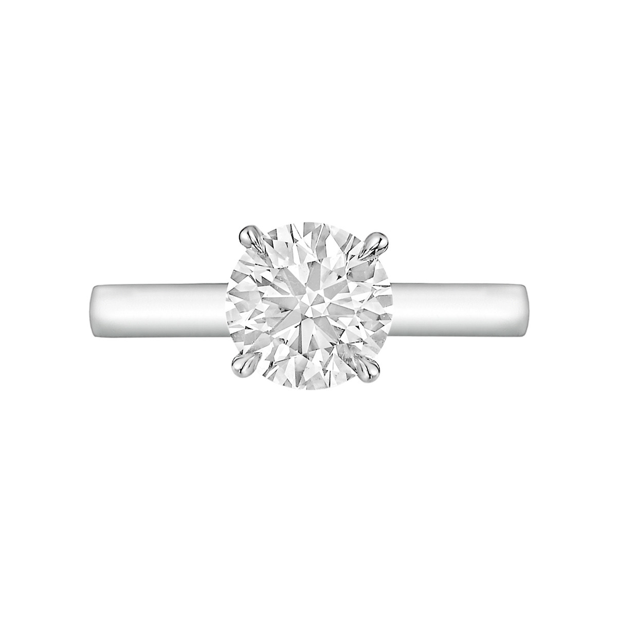 1.12ct Round Brilliant Diamond Ring (H/VS1)