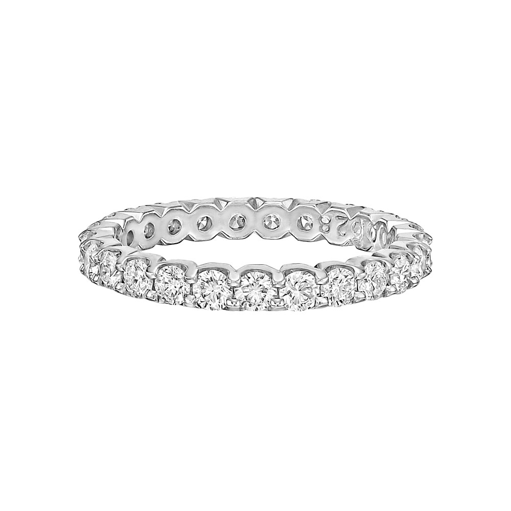 Round Brilliant Diamond Eternity Band (1.24 ct tw)