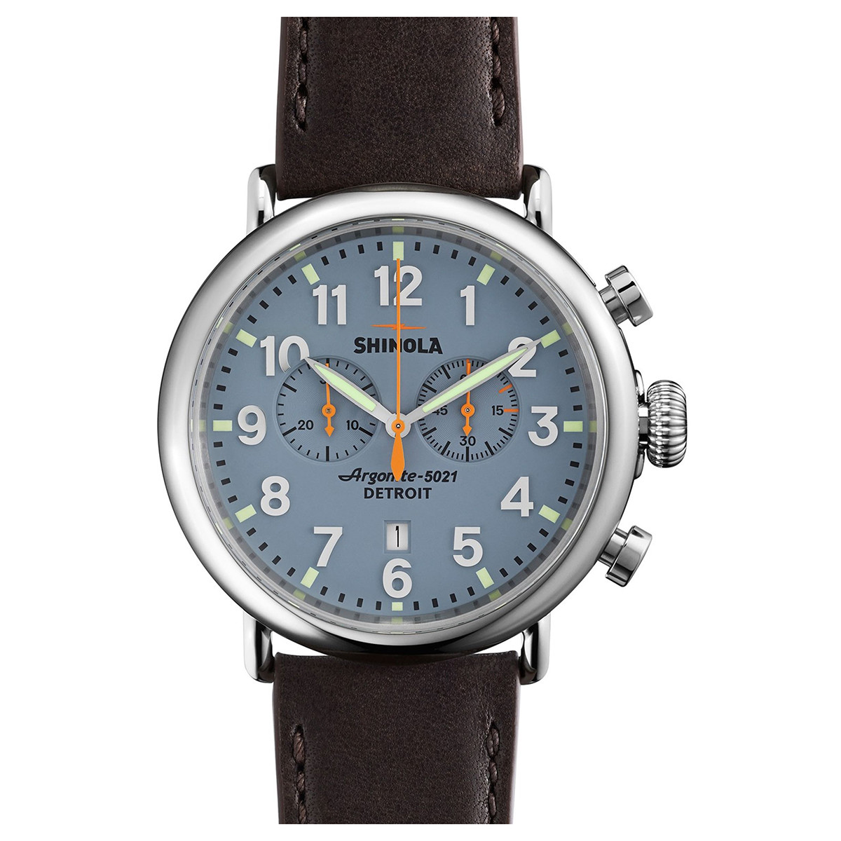 Runwell Chronograph 47mm Steel (S0110000167)