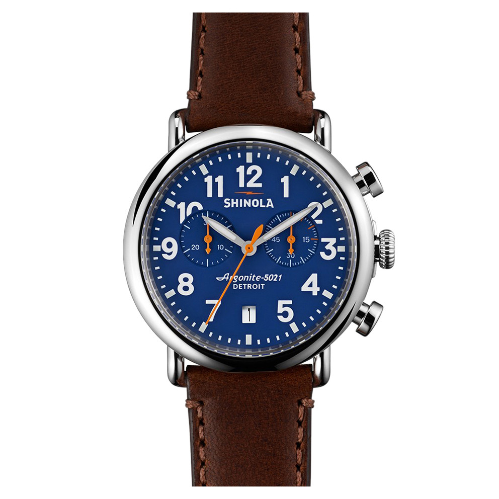 Runwell Chronograph 41mm Steel (S0100117)