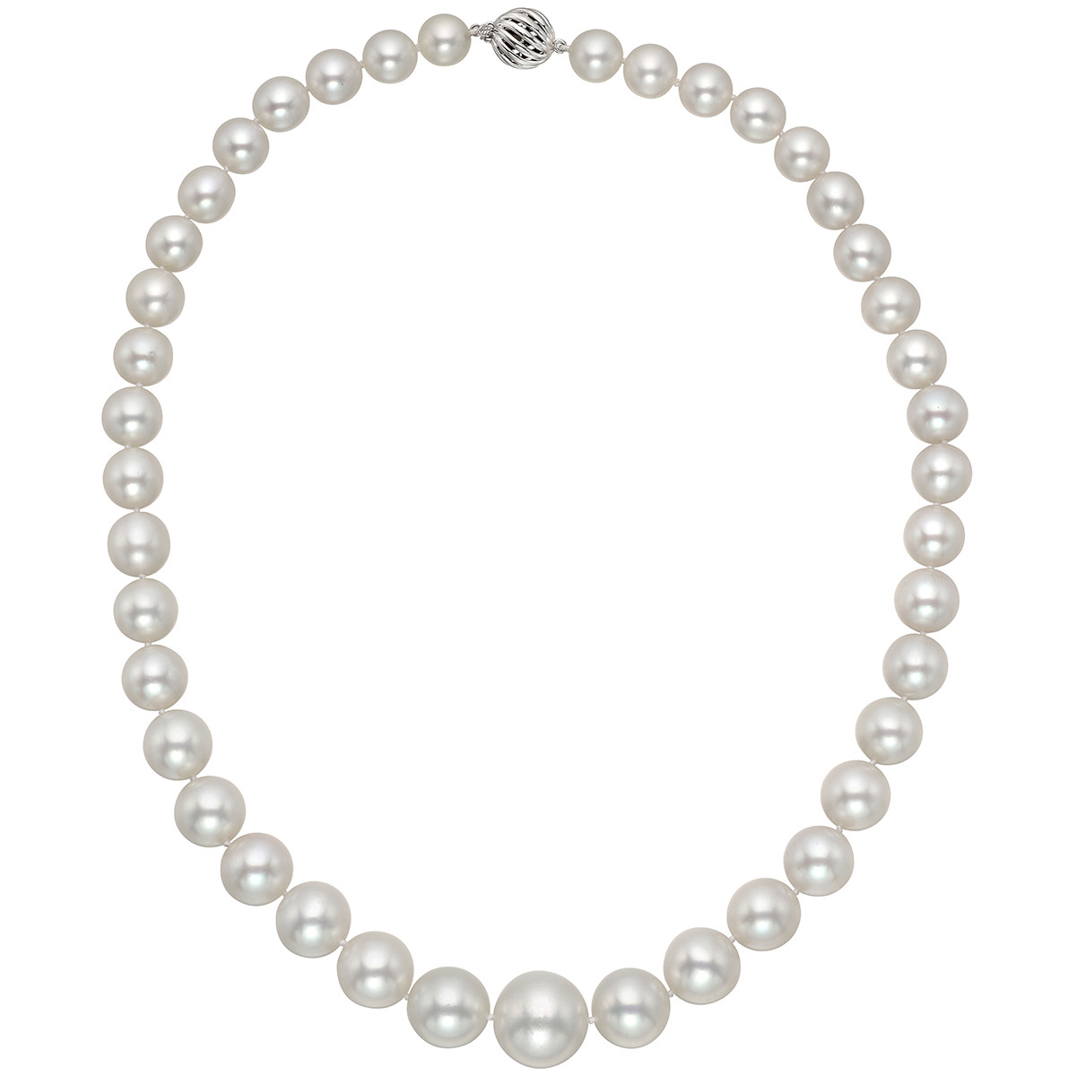 South Sea Pearl Necklace with 18k White Gold Clasp