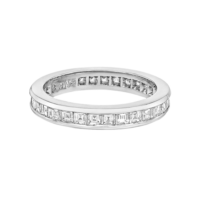 Square-Cut Diamond Eternity Band (1.80 ct tw)