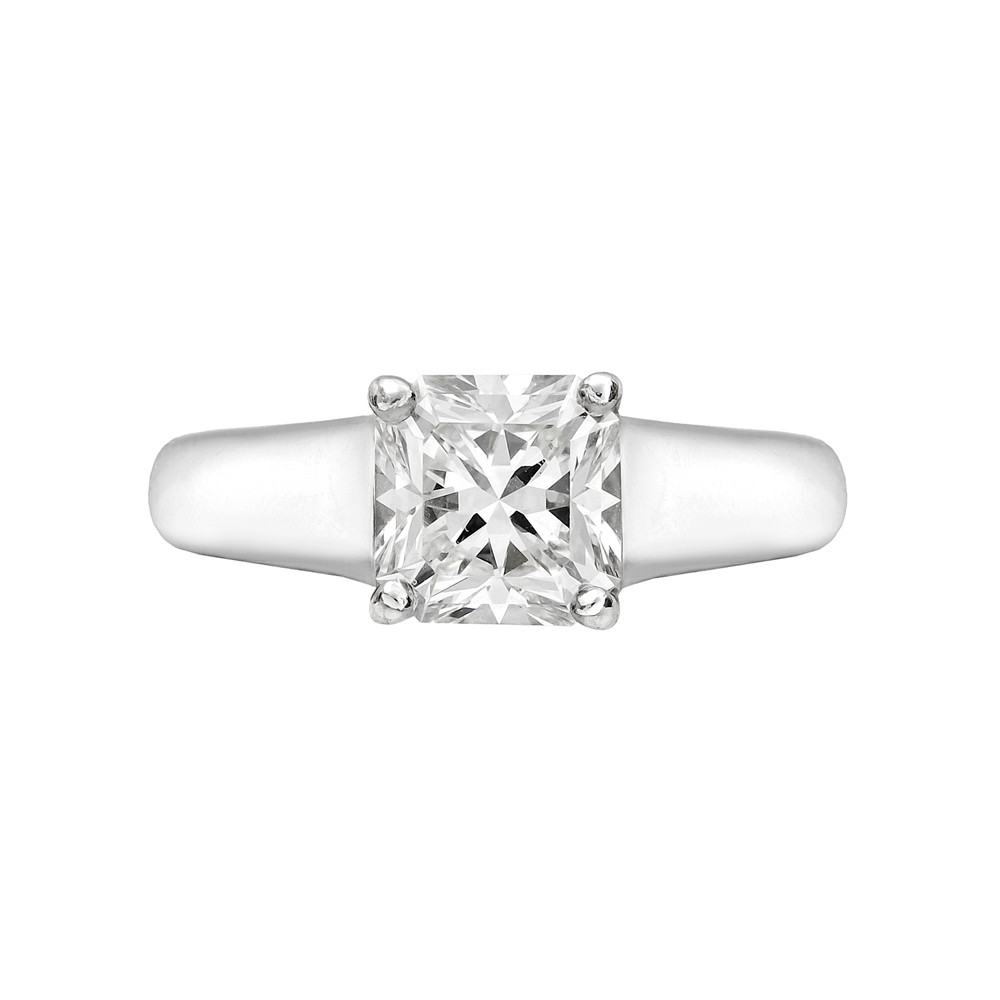 lucida diamond platinum tiffany ring engagement co certified cab solitaire