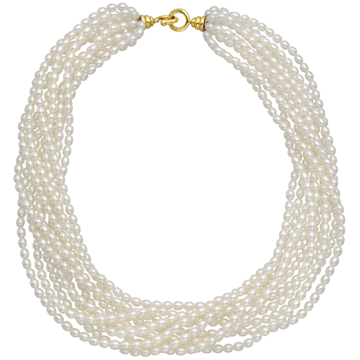 Cultured Pearl Torsade Necklace