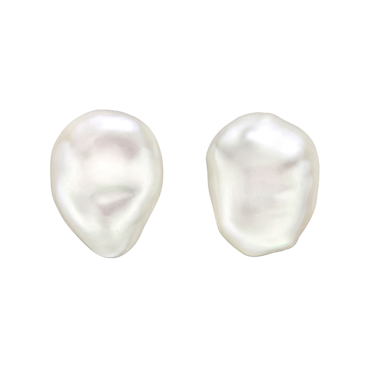"Freshwater Pearl ""Souffle"" Earrings"