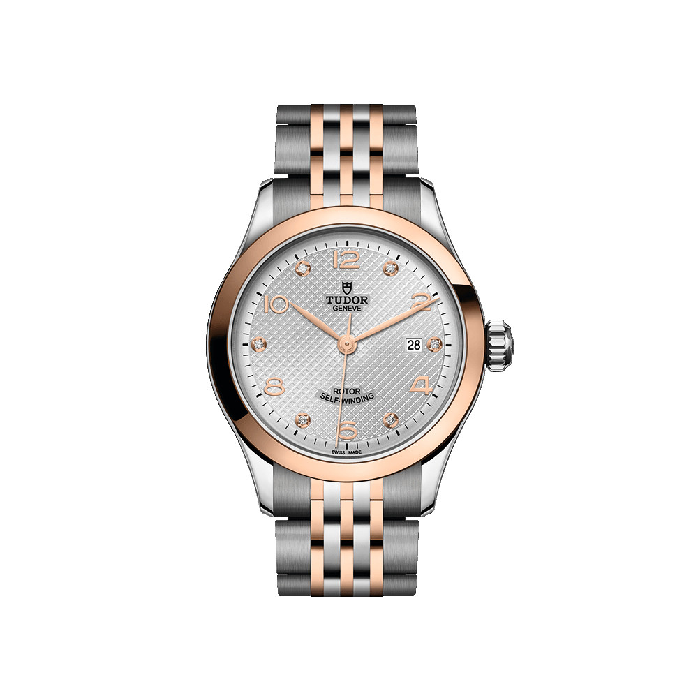 1926 28mm Steel & Rose Gold (M91351-0002)