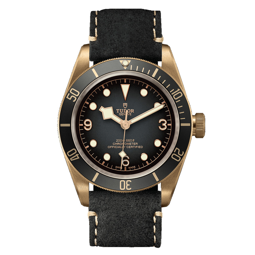 Black Bay 43 Bronze (M79250BA-0001)