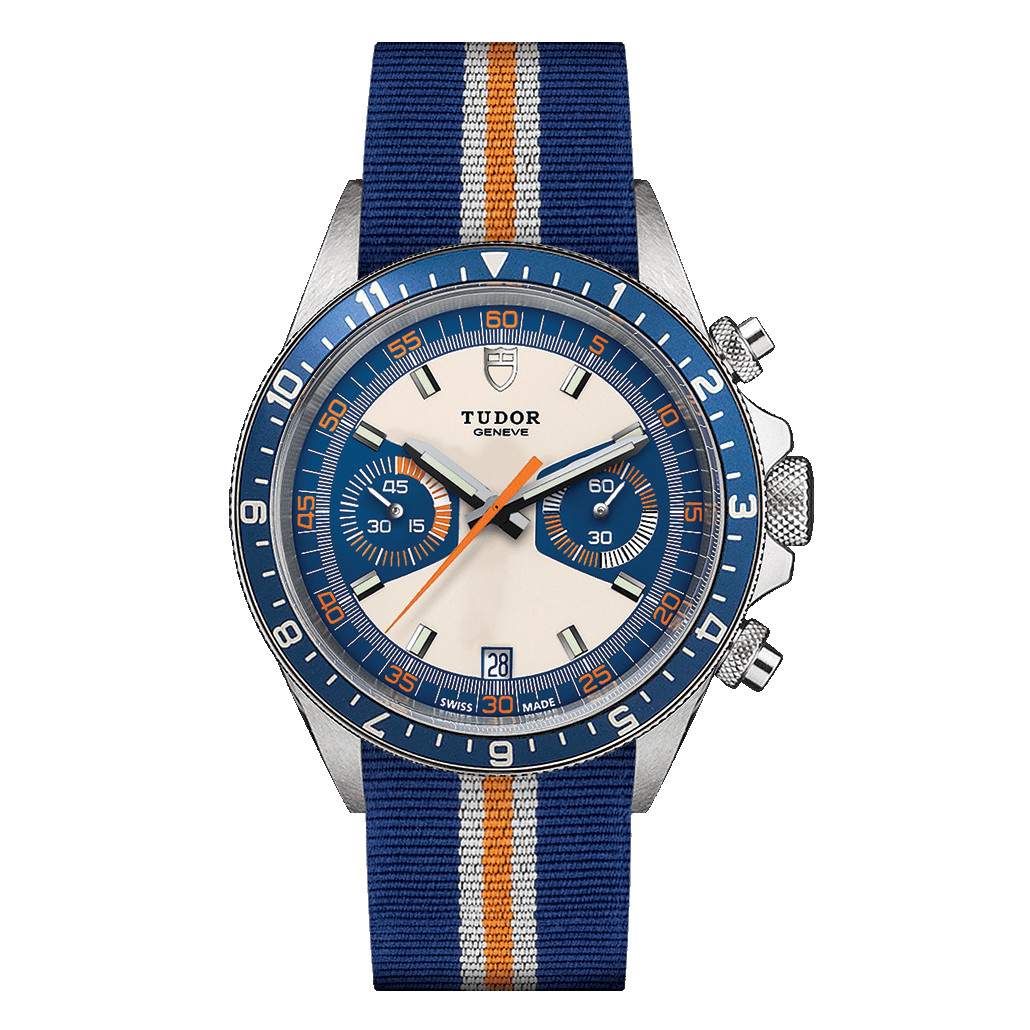 Heritage Chrono Blue Steel (M70330B-0003)