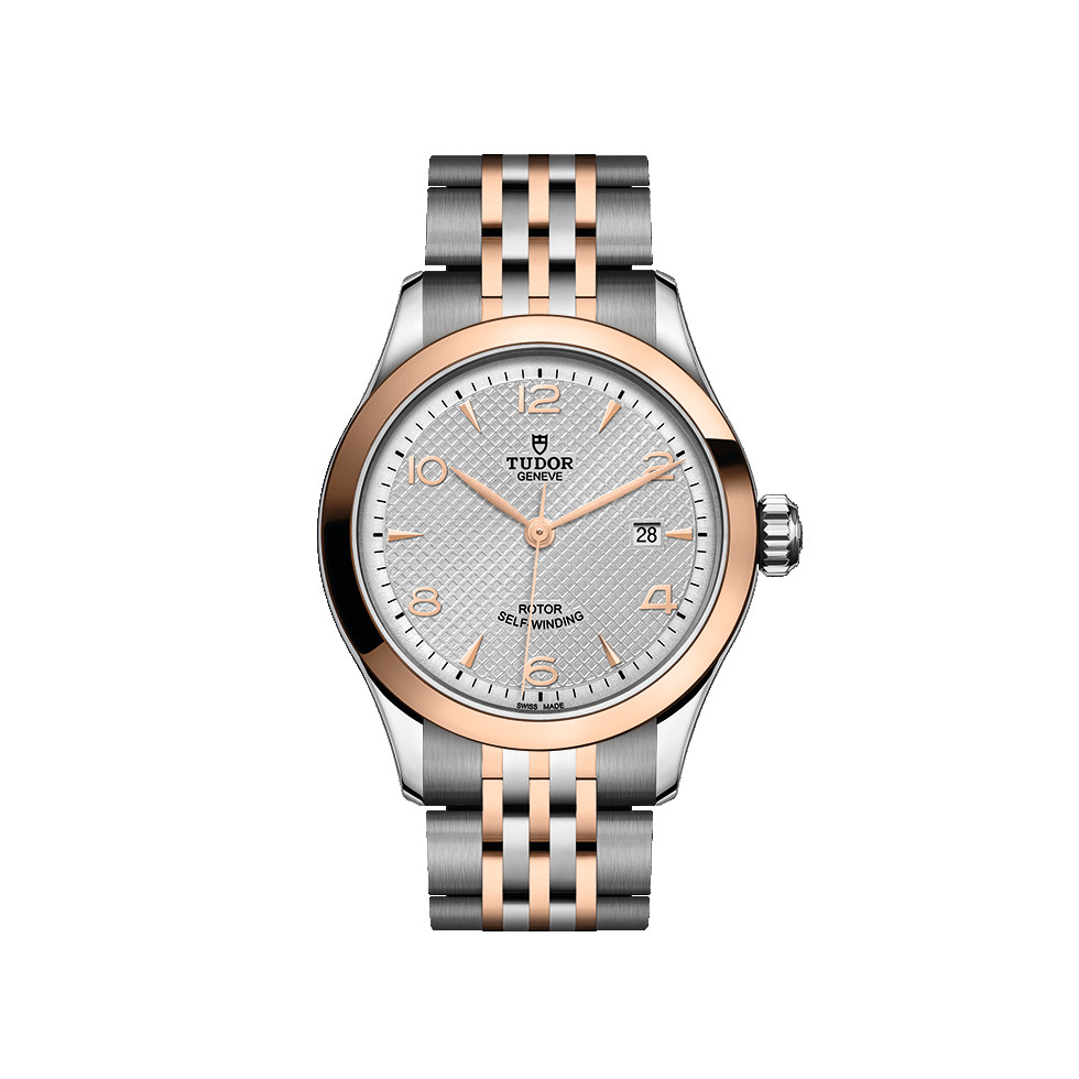 1926 28mm Steel & Rose Gold (M91351-0001)