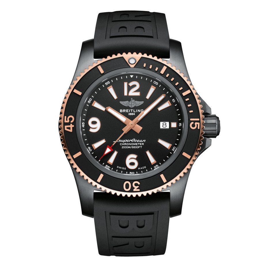 Superocean Automatic 46 Black Steel (U17368221B1S1)