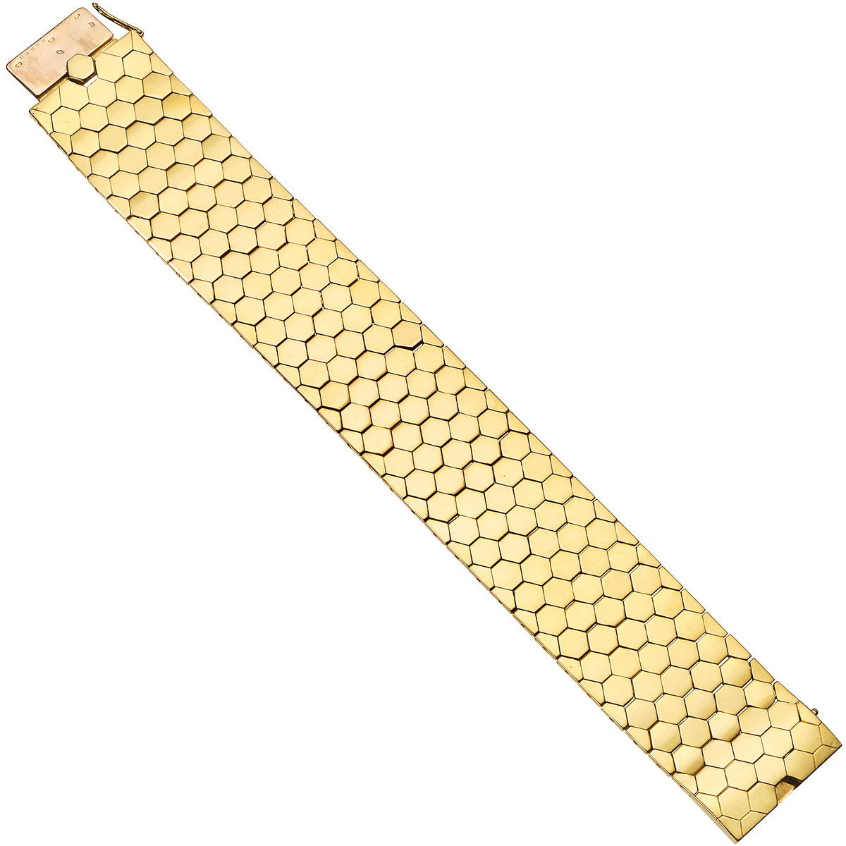 "18k Yellow Gold ""Ludo Hexagone"" Bracelet"