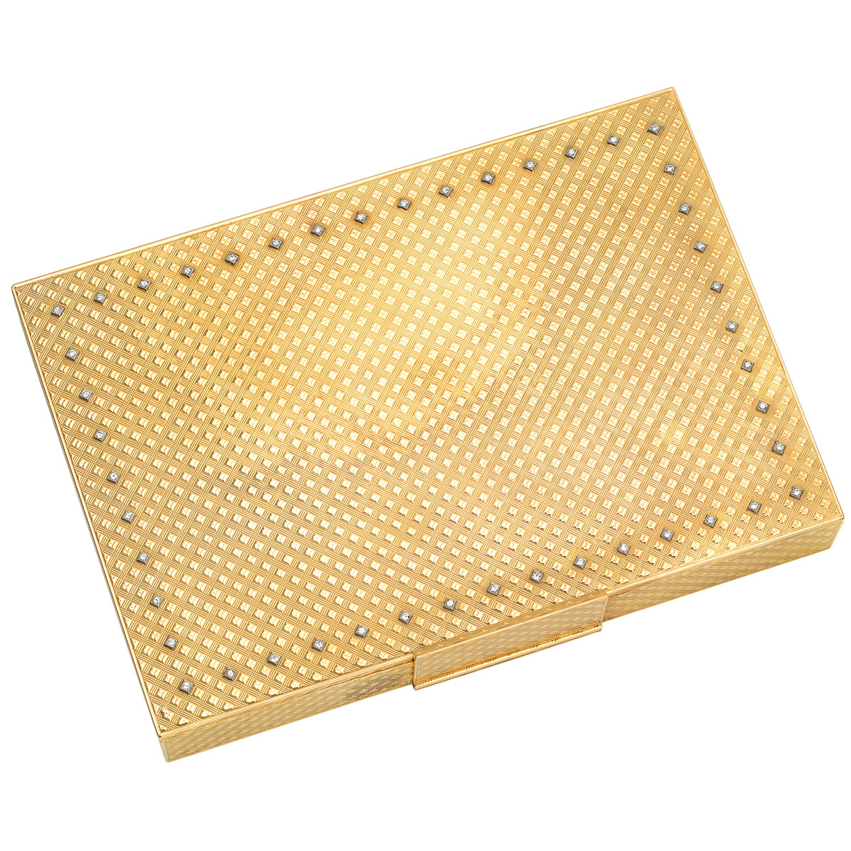18k Yellow Gold Minaudière Vanity Case